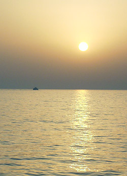 Sunset on Red Sea
