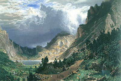 American West by Alfred Bierstadt, 1866