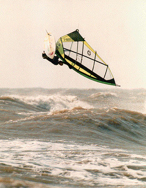 Galveston windsurfer
